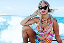 Celebrity Beach Styles / Get style inspiration from your favorite celebrities beachwear and swimwear styles. Get similar styles from us at: www.beachglam.com