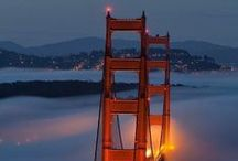 Where we work: San Francisco / As jewellers, we have the great privilege to travel a lot. One our main destinations is San Francisco, the Californian Beauty including the fog, the sun and lots of inspiring places.