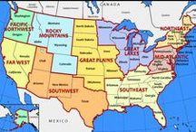 VAKANTIE USA september 2015 / Plaatsen die we gaan bezoeken in september 2015