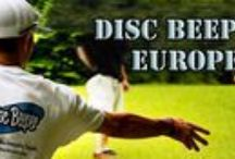 Disc Beeper Europe / For anyone who plays the game Disc Golf (Frisbee Golf), you have probably lost one of your discs. This is frustrating because these discs typically cost around €20. Disc Beeper is a new product that attaches to the disc of your choice and produces an audible beeping sound that can be heard from over 200 feet away allowing you to find you disc every time!