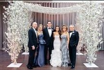 Alicia & Adam's Winter in the Wonderland at Tribeca Rooftop NY / This is Alicia and Adam's the Winter in the Wonderland wedding night at Tribeca Rooftop in New York City. What a beautiful couple!! Thank you Trent Bailey Photography for the beautiful photos!!