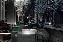 Restaurants, Hotels and Office Decor / by Angie Betz