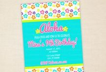 Luau/Beach Party Items / Decorations, food, games & other great party ideas for a Luau or Beach party