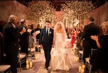 Jessica & Rory's Spectacular Wedding at Cipriani 42nd Street NY / Jessica & Rory's wedding must be one of the most spectacular weddings that we have ever designed. That special night, Cipriani 42nd Street was totally transformed, the whole venue was covered with the white carpet. We erected 2 gigantic trees with thousands of white orchids at the ceremony for our gorgeous bride and groom to exchange their vows under the trees. Thank you Joanna Toto for Ira Lippke Studios for the beautiful photos!!