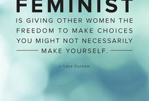 """The F word (Feminist) / Even amongst feminists, we consider certain people not to be """"good feminists"""". NOT ANYMORE!"""