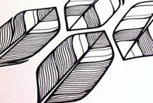 Doodles / Doodles en handlettering