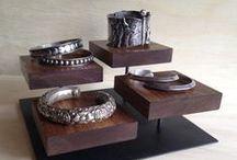 Jewelry Displays / Creative ways to display jewelry