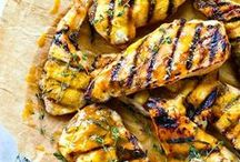 BBQ with Mustard / What's on your grill? Mustard can elevate dishes and add flavour to any item.