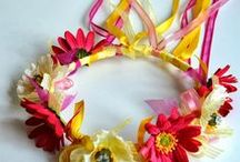 Ribbon Crafts / What to do with all that extra ribbon