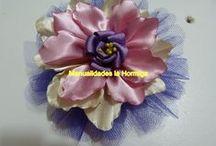 fleurs      ruban