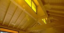 Scuola in legno a Clusone (BG) / La magia del legno, della luce e dei colori  per la Scuola dell'infanzia Clara Maffei di Clusone #struttureinlegno #ediliziasostenibile https://www.marlegno.it