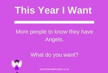 Angel Inspiration / Angel advice and inspiration taken from my Angel Intuitive Cards and some of my own quotes.
