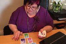 """Angel cards / My Angel Intuitive Cards have all been channelled by """"The Upstairs"""" and are a fun and simple set but are also incredibly powerful and accurate."""