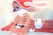 Diana Lapshina / Russian illustrator and My Best Friend :)