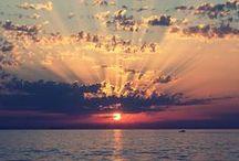I love sunsets / Sonnenuntergänge auf der ganzen Welt.