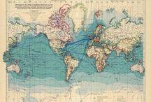 Maps // Landkarten