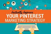 Pinterest Tips / Find infographics and strategies to make the most of your Pinterest board and experience.