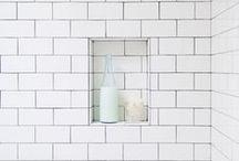 Bathroom: Shower Niches + Seats