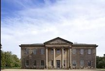 Rise Hall / The Hall was bought in March 2001 by TV host Sarah Beeny and her husband, artist Graham Swift. The Hall was built by architects Watson and Pritchett between 1815 and 1820 for the High Sheriff of Yorkshire, Richard Bethell. / by Susan Moon