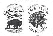 Vintage Badge & Label