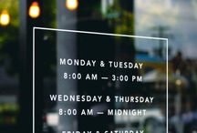 Café // Bar