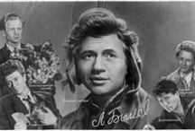 Soviet film actors.  Советские киноактёры.