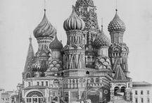 Moscow in old photos. Москва в старых фотографиях.