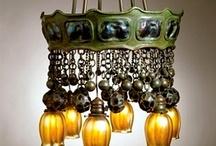 Lamparas y candelabros / Diferentes estilos de lamparas y candelabros elaborados en diferentes materiales. / by Any Chávez de Melgar