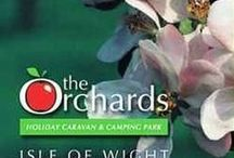 The Orchards Holiday Park / We are a family friendly, high quality Holiday Park on The Isle of Wight. We have pitches for touring caravans and tents and motorhomes. We have holiday caravans to rent.