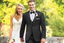 Suit & Tuxedo Rentals / More Styles, More Colors, Great Prices. We have an amazing selection of Suit and Tuxedo Rentals available from Rosewood Bridal.  Because we are a Bridal Boutique we know just how important it is that the guys look great. And he will look great, it's what we do. Below are a just a few ideas, we can customize style & color for your big day.