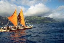 Hōkūleʻa World Wide Voyage / Hawaiian voyaging canoes, Hōkūleʻa and Hikianalia, are journeying around the world to learn, creating global relationships, and caring for our oceans and island earth.