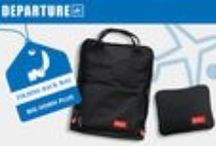 BIG HORN foldable tote / back bag / BIG HORN foldable tote / back bag will launch on Cathay Pacific flights from July 2015