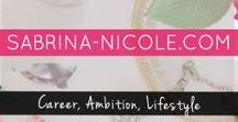 Sabrina-Nicole.com /  Sabrina Nicole. Com is a simple lifestyle blog for fellow creatives & for anyone interested in quick tips, empowerment, business goals and self love. Sprinkled with passion & ambition.