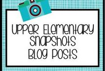 UES Blog Posts / Creative ideas, freebies, and resources for the 3rd - 6th grade classroom. / by Upper Elementary Snapshots