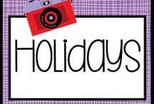 UES Holidays / Creative holiday ideas for the 3rd - 6th grade classroom.