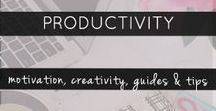 Productivity - Creativity & Motivation / Productivity, Creativity & Motivation. Personal Development. How to be more creative, thoughts on motivation and goal setting, how to stay disciplined and be productive