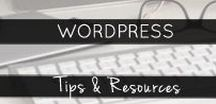 Wordpress / Tips & tricks for making your WordPress site work for you as a creative entrepreneur. Business owners websites.