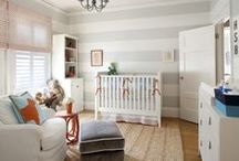 Nursery Inspiration / A collection of my fave nursery spaces / by Rhiannon Nicole Bosse
