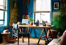 workspaces / beautiful places & ideas for creative workspaces.  / by Nikole Bordato