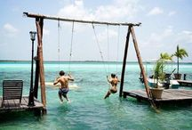 Escape / Escape from work and enjoy world experiences.