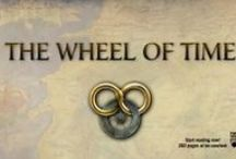 A love of The Wheel of Time / Robert Jordan - The Wheel of Time Series - I'm currently reading The Dragon Reborn