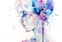 Painting lessons / by Jennifer Hallman