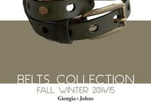 Belts Collection | FW '14
