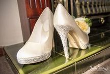 Wedding Shoes / A selection of the many wonderful stylish shoes I have photographed at weddings