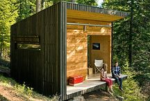 Backyard Workplace / A tiny house which is separated from the main house.