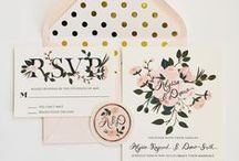 WeddingSTATIONERY / by Kirsty Rankin