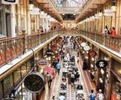 Shopping Destinations / The best destinations for travelling shopaholics - chic cities to shop 'til you drop!