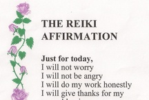 """Reiki / Reiki (ray-key) is a """"laying on of hands"""" healing method. It is very gentle and non-invasive. The universal life force energy is channelled through the practitioner into the client. Reiki is spiritual in nature but is not a religion. Reiki sessions are available for all ages and benefits everyone, people, pets and animals. Reiki treats body, mind and spirit."""