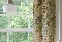 window treatment ideas / by Nancy Godek