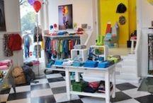 Tiendas infantiles Amsterdam / Este tablero te ayudará a encontrar las tiendas más divertidas de Amsterdam.